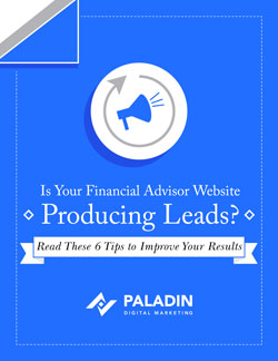 82.7% of RIAs and/or IARs say their current advisor websites do not generate leads.