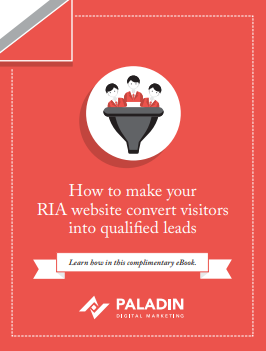 How to make your RIA website convert visitors into qualified leads